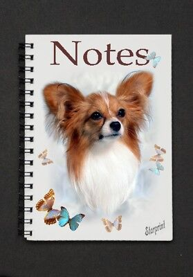 Papillon Notebook / Notebook By Starprint - Auto combined postage