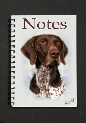 German Shorthaired Pointer Notebook/Notepad - Starprint - Auto combined postage