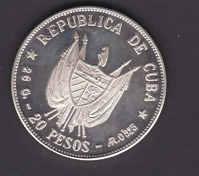 Carribean Country, that I cant mention Proof 20 Pesos 1977
