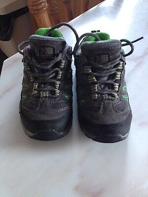 boys karrimor mount kids trainers - size 10