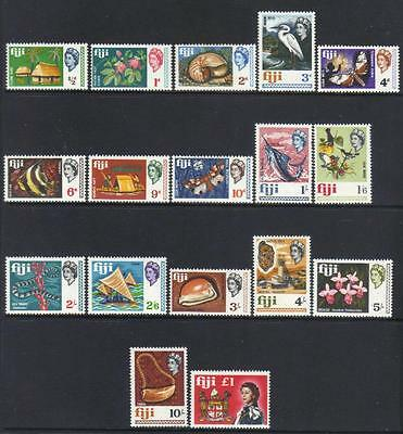 Fiji 1968 Definitives U/m Cat £19+
