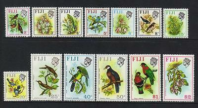 Fiji 1972 Birds And Flowers U/m Min Cat £24+
