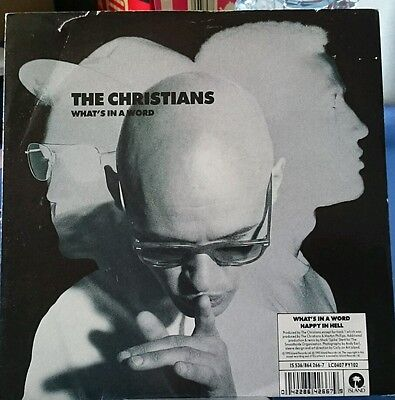 "The Christians -  What's In A Word 7"" Vinyl 45RPM"
