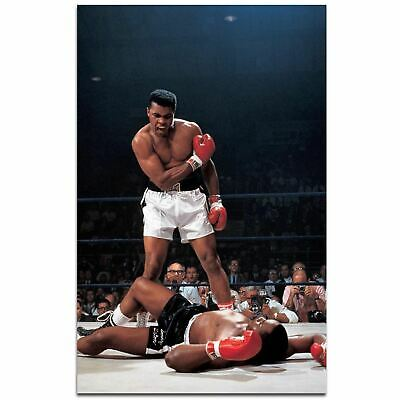 Muhammad Ali Boxing Poster A3 Size
