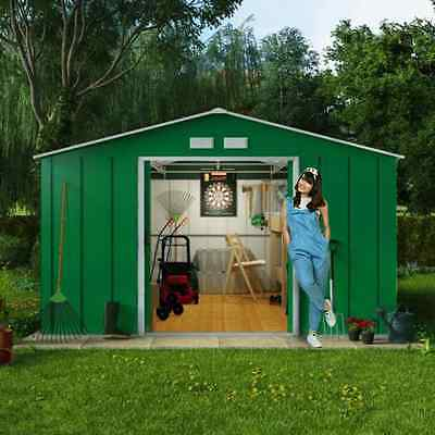 8x10 Metal Shed BillyOh Outdoor Storage Unit (Base Option Available) 8ft x 10ft