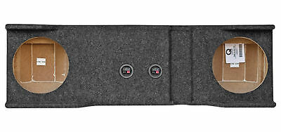 """Dual 10"""" Subwoofer Box For 2001-2006 Chevy/GMC Heavy Duty 1500/2500/3500HD"""