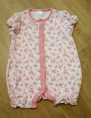 beautiful baby girls newborn outfit romper playsuit lovely condition upto1m