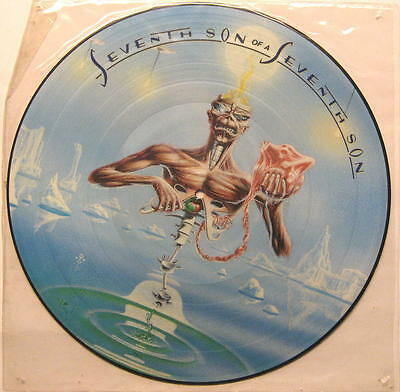 "Iron Maiden ""seventh Son Of A Seventh Son"" - Picture Disc Lp"