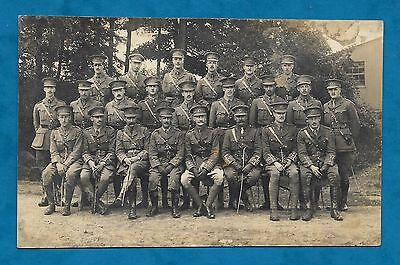 Wwi Era Rp Pc Group Of Royal Engineer Officers