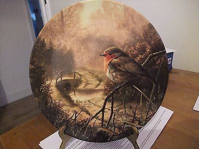Royal Doulton Collectors Plate Dawns Bright Herald By Adrian C Rigby