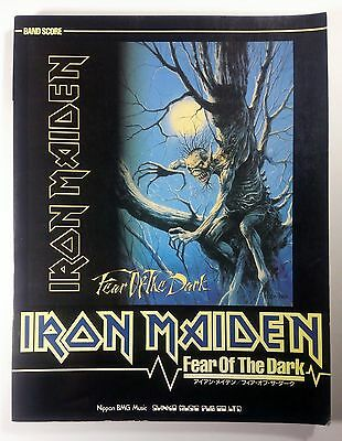 Iron Maiden Fear Of The Dark Band Score Japan Guitar Tab