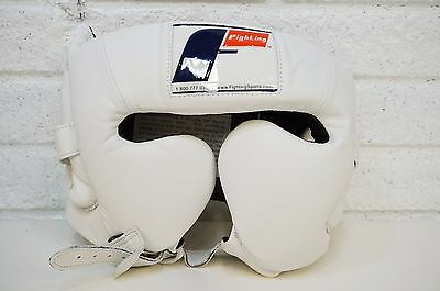 Fighting Sports Traditional Training Headgear, White, Large L Boxing
