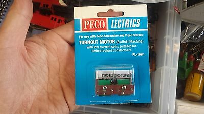 OO Peco PL-10W Motor Low Current Coils Remote control Points