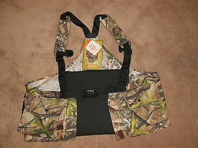 Fieldline Hunting Vest Lots of Pockets - Seat Cushion and Back Cushion