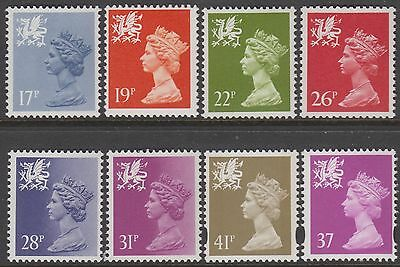 Wales  Selection Of  8   Unmounted Mint