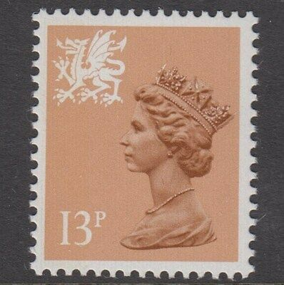 WALES 1987  13p  TYPE 11  SG W38Ea    UNMOUNTED MINT