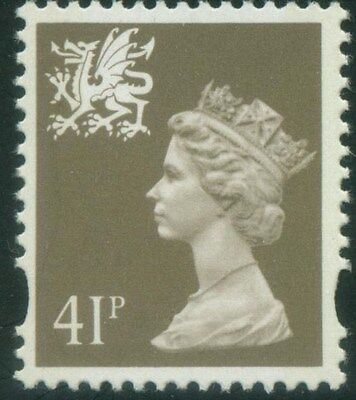 WALES 1993 41p  SG W77    UNMOUNTED MINT