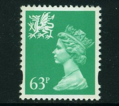 WALES 1996  63p   SG W78   UNMOUNTED MINT