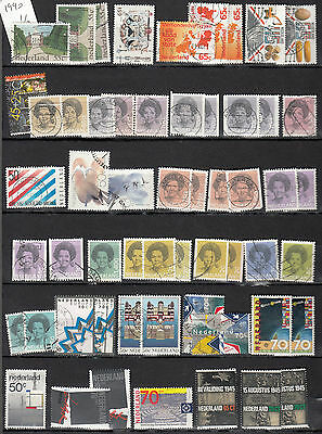 NEDERLAND 1981 2005 collection 235 stamps 147 different  5 scans netherland