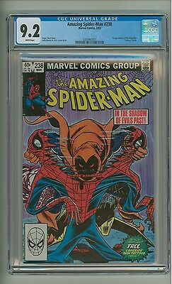 Amazing Spider-Man 238 (CGC 9.2) White pages; 1st app. Hobgoblin; 1983 (c#12786)