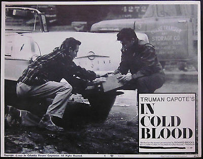 In Cold Blood 1968 Truman Capote Original US Lobby Card Number 4