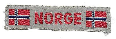 Norway Country Strip Scout Badge