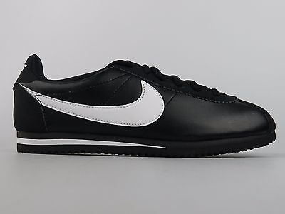 buy popular 2cbf0 33113 Nike Boys Girls Youth Cortez GS Size 6Y New Black White Sneaker Shoes  749482 001 •