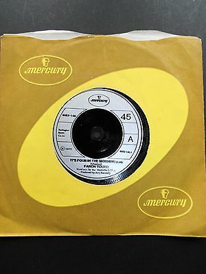 """Vintage 7"""" Single Faron Young Its 4 In The Morning 1972 Mercury Label 6052-140"""