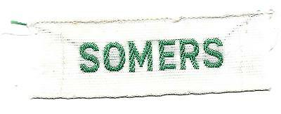 Somers Nametape Scout Badge