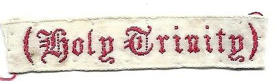 Holy Trinity Nametape Scout Badge