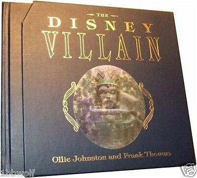 The Disney Villain Book HAND Signed Limited Edition Frank Thomas Ollie Johnston