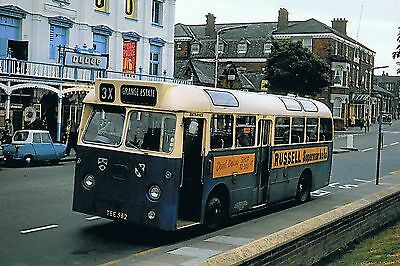 Grimsby&Cleethorpes Willowbrook AEC Reliance FN13 TEE552