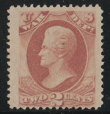 O84 Official Stamp WAR  United States mint no gum well centered