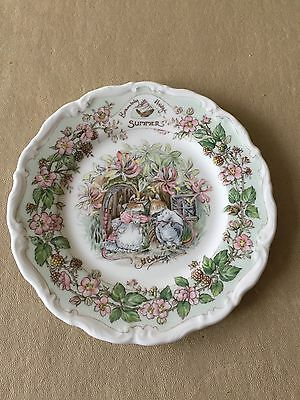 "Brambly Hedge Tea Plate ""summer"""