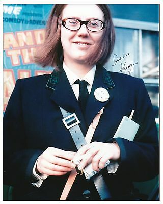 On The Buses - Anna Karen Signed 10X8 Photograph