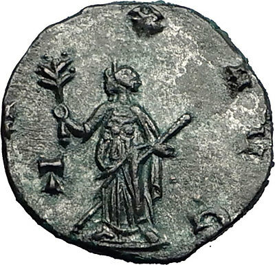Gallienus son of Valerian I  Genuine Ancient Roman Coin Pax Peace i58477