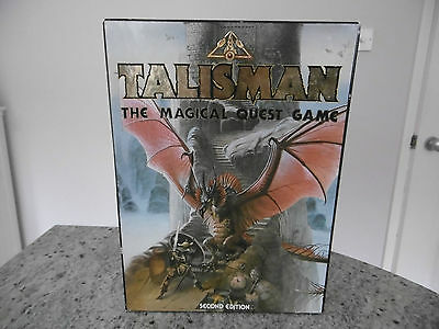 *talisman The Magical Quest Game 'second Edition' Complete-Exc Cond*