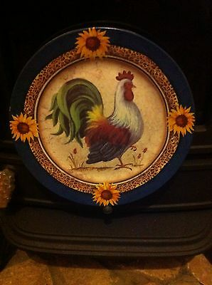 Cockerel Side Plate For Show Or Using New