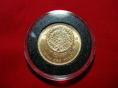 20 Pesos Gold Mexican Coin A MUST HAVE IF YOU COLLECT GOLD COINS FREE SHIPPING
