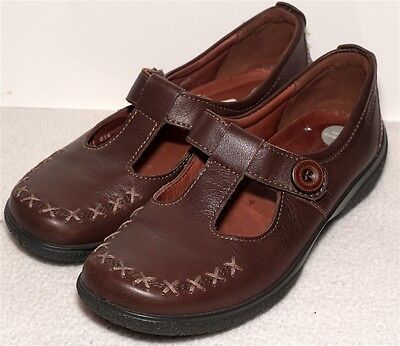 Ladies Hotter Cher Brown Flat Shoes - Size 4.5 Uk / 37.5  Std Fitting