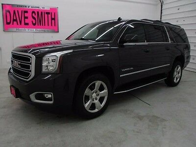 2015 GMC Yukon SLT Sport Utility 4-Door 15 Heated/Cooled Leather XM Radio & Navigation Capable DVD Player