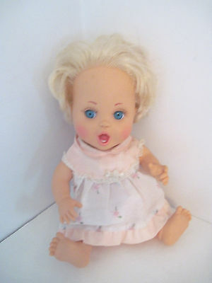 Lewis Galoob Baby Face Doll #23 So Excited Becca -Rare -Very Hard To Find! Cute!