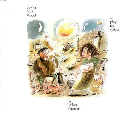 Dylan Thomas ‎- Under Milk Wood, A Play For Voices  (2 CD A/B 1988) 48 Page Book