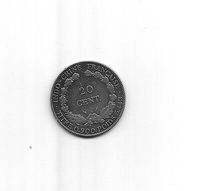Indochine   Indochina   20 Cent.  1894 A   Silver