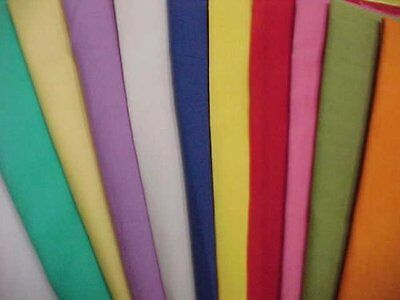 BEST Vintage Cotton Quilt Fabric All Solids 1930s Remnants Mixed LOT Material