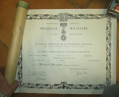 Diplome Medaille+Tube
