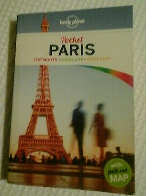 The Lonely Planet pocket guide to Paris