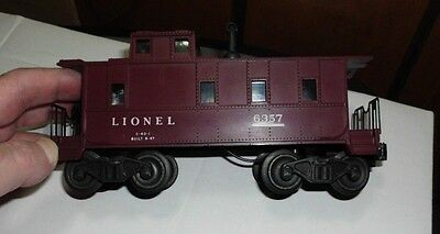 Lionel 6357 CABOOSE - Tuscan or Maroon???
