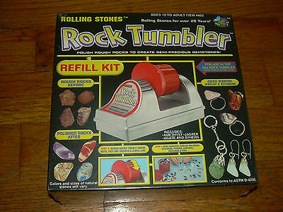 SEALED Rock Tumbler Refill Kit