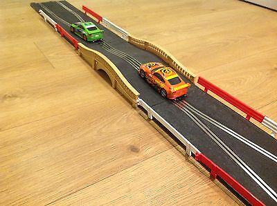 Scalextric Rare Sport Digital Track Humpback Bridge Chicane Set Exc Cond
